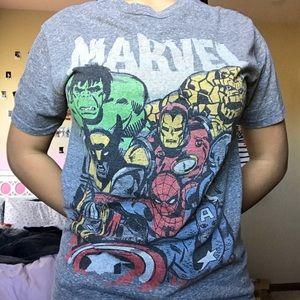 WOMENS MARVEL T-SHIRT